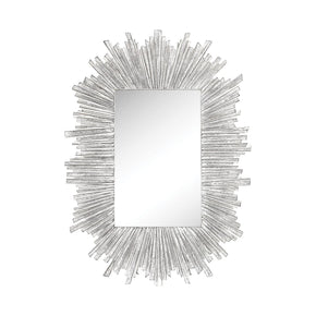 Arroyo Wall Mirror Bleached White