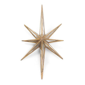Antique Gold Twinkle Star Mirror