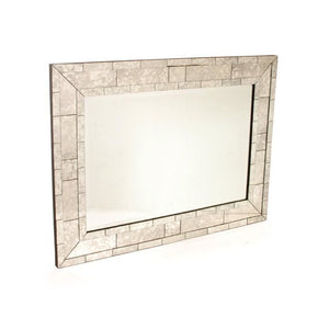 Antique Brick Mirror