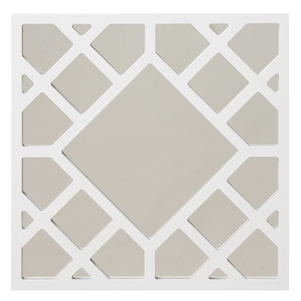 Anakin White Lattice Mirror