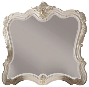 Marquee Pearl White Mirror