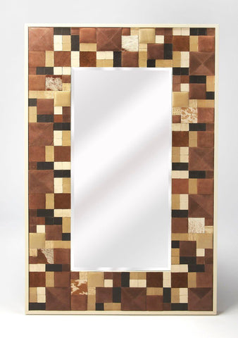 Gagne Modern Rectangular Wall Mirror Multi-Color