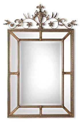 Mirrors - Uttermost UTT-11201 B Le Vau Vertical Silver Mirror | 792977312018 | Only $426.80. Buy today at http://www.contemporaryfurniturewarehouse.com