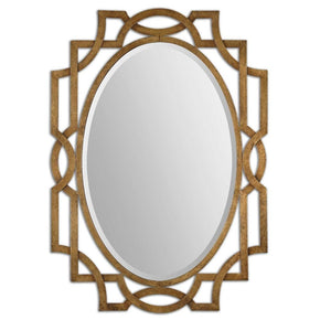 Mirrors - Uttermost UTT-12869 Margutta Gold Oval Mirror | 792977128695 | Only $305.80. Buy today at http://www.contemporaryfurniturewarehouse.com