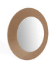 Emily Console Mirror high gloss gold lacquer
