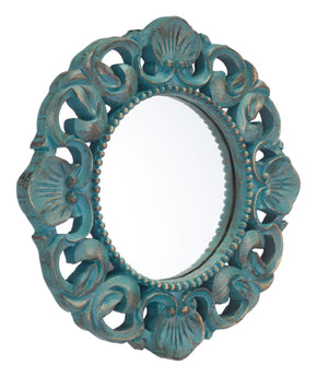 Mirrors - Zuo Modern Antique Mirror Antique Blue | ZUO-A11038 | 842896124718| $101.80. Buy it today at www.contemporaryfurniturewarehouse.com
