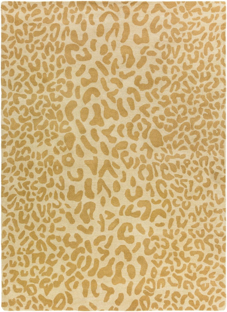 Modern, Rugs, Tan & Neutrals - Surya ATH5121-1014 Athena Animal Area Rug Yellow | 764262613834 | Only $1688.40. Buy today at http://www.contemporaryfurniturewarehouse.com