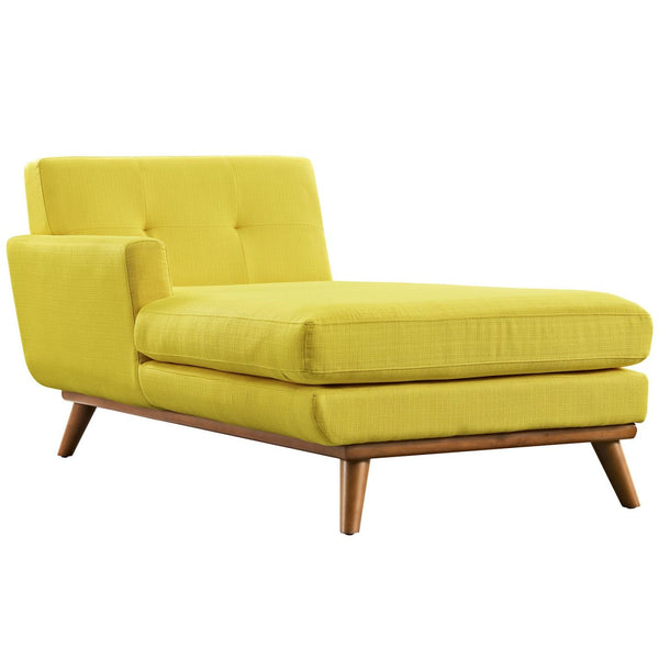 Modular Sofas - Modway EEI-1793-SUN Engage Left-Arm Upholstered Chaise | 889654018643 | Only $751.30. Buy today at http://www.contemporaryfurniturewarehouse.com
