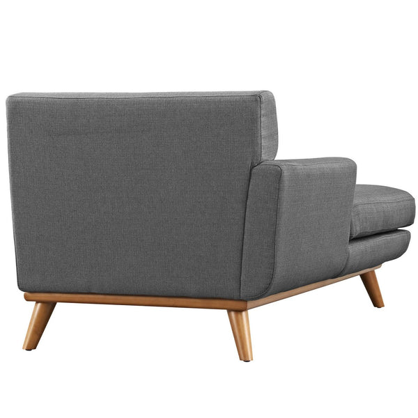 Modular Sofas - Modway EEI-1793-AZU Engage Left-Arm Upholstered Chaise | 889654018612 | Only $860.05. Buy today at http://www.contemporaryfurniturewarehouse.com
