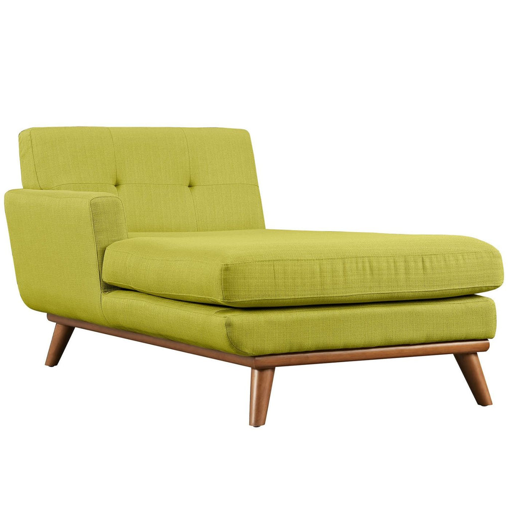 Modular Sofas - Modway EEI-1793-WHE Engage Left-Arm Upholstered Chaise | 889654018650 | Only $751.30. Buy today at http://www.contemporaryfurniturewarehouse.com