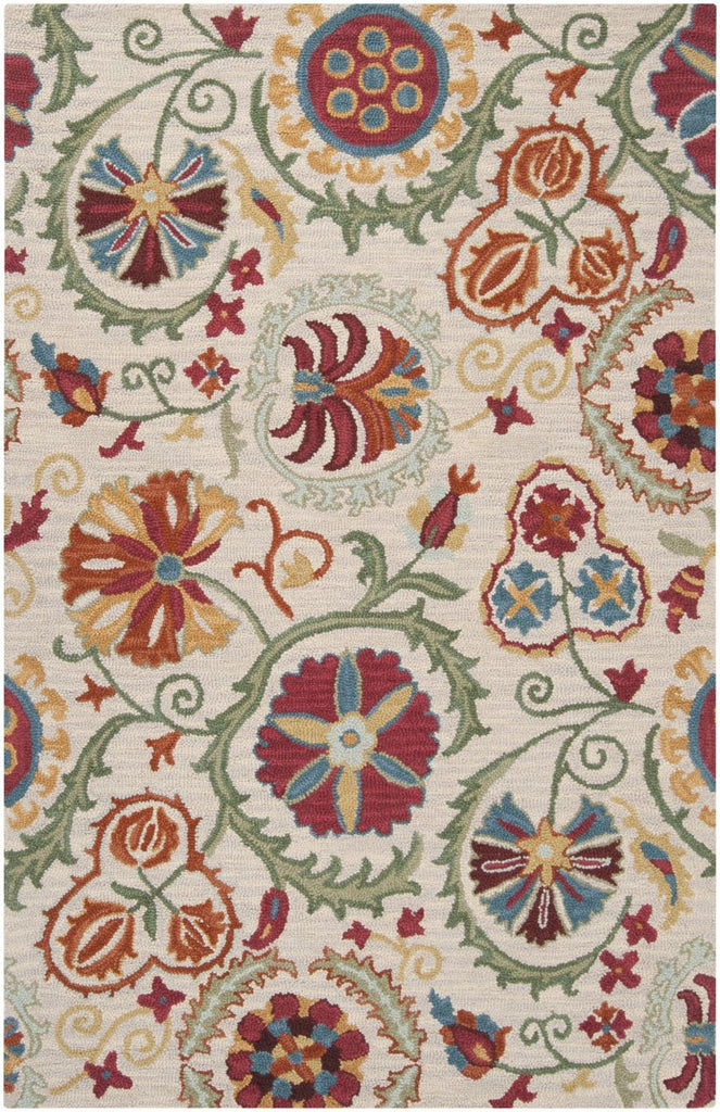 Centennial Floral And Paisley Area Rug Brown Red
