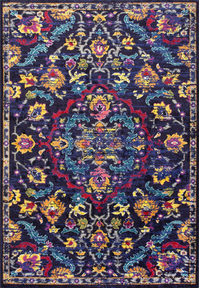 Nuloom Ornate Barron Multi Rug