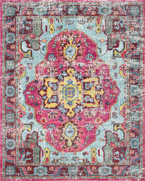 Nuloom Machine Made Simone Multi Rug