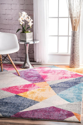 Nuloom Abstract Mosaic Anya Area Rug