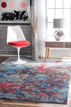 Nuloom Abstract Sherley Area Rug