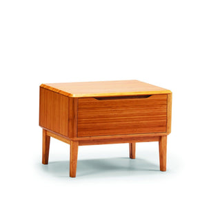 Currant Nightstand Carmalized