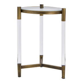 New Pacific Direct 1600027 Amaris Acrylic End Table Transparent