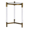 Amaris Acrylic End Table Transparent