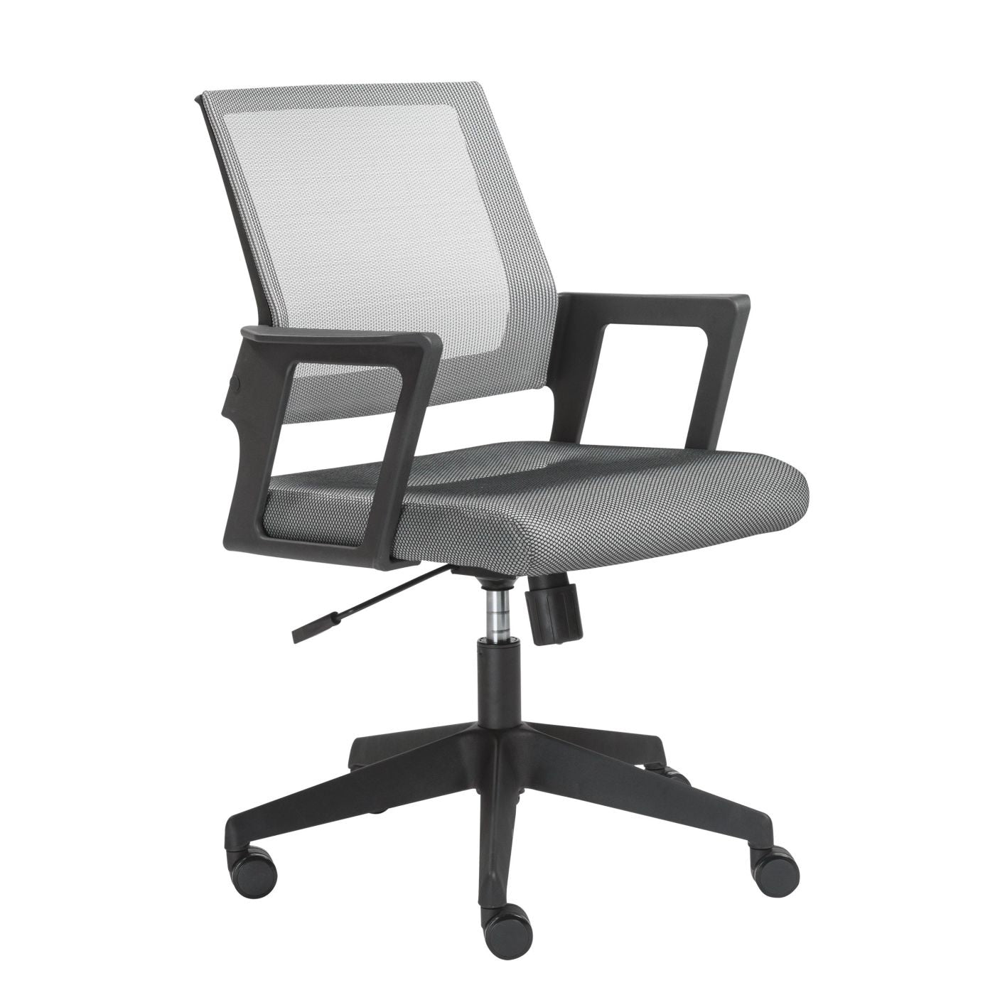 Buy Euro Style Euro 29723 Maska Office Chair In Gray Mesh And Black At Contemporary Furniture Warehouse