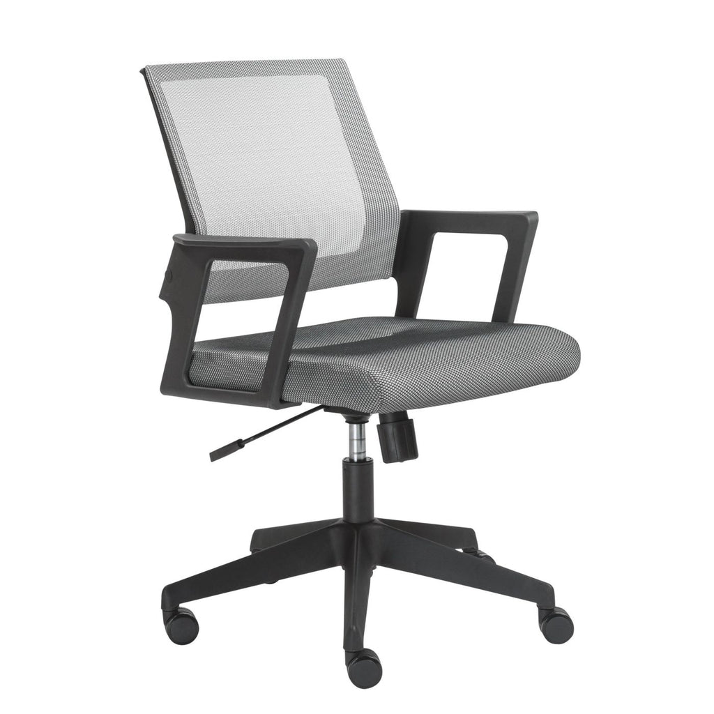 Maska Office Chair In Gray Mesh And Black