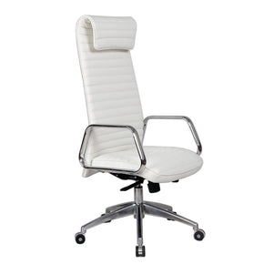 Ox Office Chair High Back White