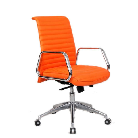 Ox Office Chair Mid Back Orange
