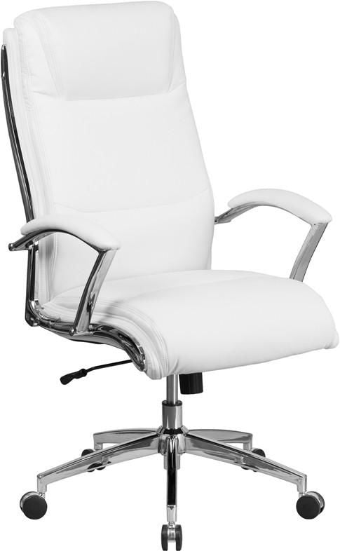 Modern White Leather Chairs At Contemporary Furniture Warehouse