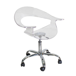 Office Chairs - Lumisource CHR-TW-RUMOR CL Rumor Office Chair Clear Acrylic | 681144429102 | Only $169.80. Buy today at http://www.contemporaryfurniturewarehouse.com