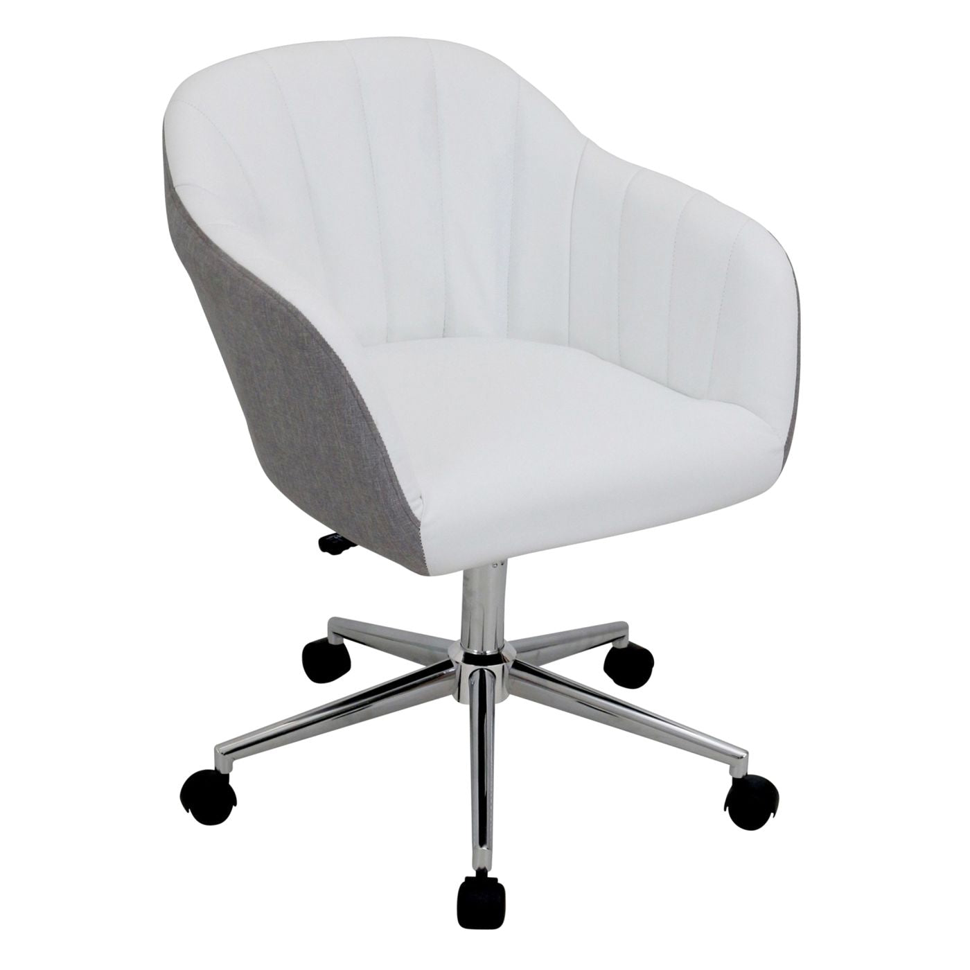 office w grey may stool linen chair ottoman back homcom recliner set offer holiday