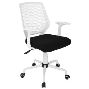 Network Office Chair White Black