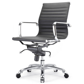Office Chairs - Meelano 344-BLK Modern Office Chair In Black | 035127435046 | Only $199.80. Buy today at http://www.contemporaryfurniturewarehouse.com