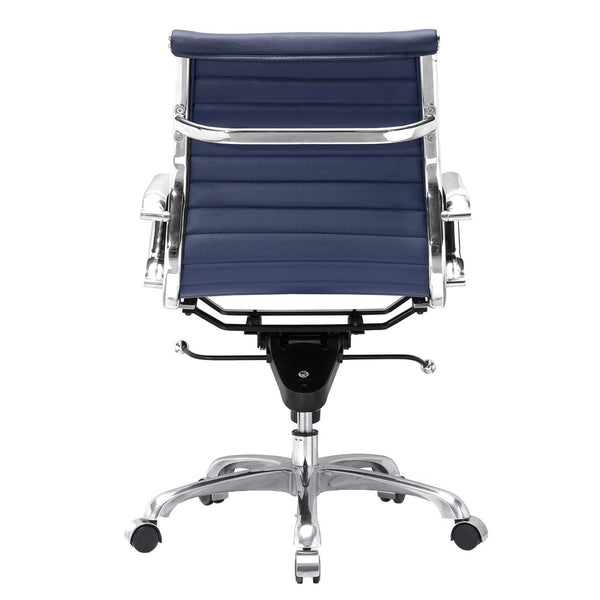 Modern Office Chair In  Blue