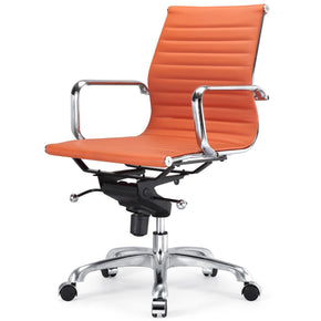 Modern Office Chair In Orange