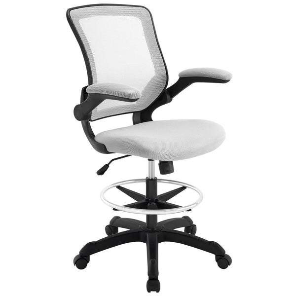 Office Chairs - Modway EEI-1423-GRY Veer Drafting Chair | 848387029401 | Only $118.75. Buy today at http://www.contemporaryfurniturewarehouse.com