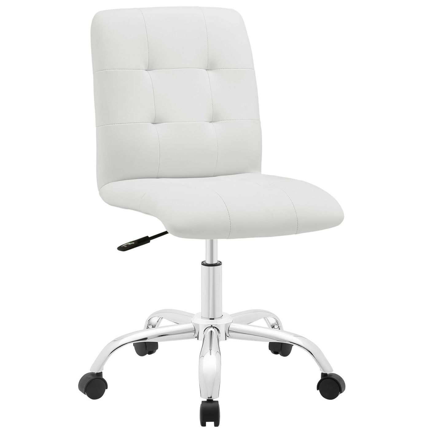 Fantastic Modway Office Chairs On Sale Eei 1533 Whi Prim Modern Armless Mid Back Office Chair Padded Faux Leather Only Only 107 30 At Contemporary Furniture Machost Co Dining Chair Design Ideas Machostcouk