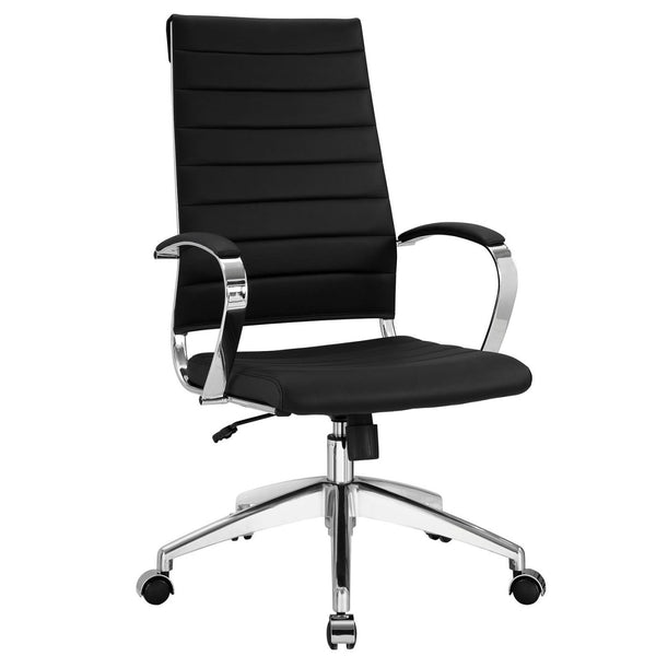 Office Chairs - Modway EEI-272-BLK Jive Highback Modern Office Chair | 848387005719 | Only $218.25. Buy today at http://www.contemporaryfurniturewarehouse.com