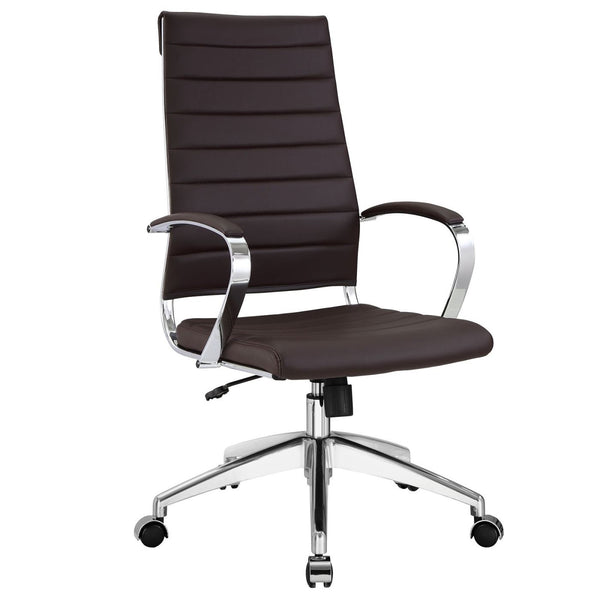Office Chairs - Modway EEI-272-BRN Jive Highback Modern Office Chair | 848387005726 | Only $222.25. Buy today at http://www.contemporaryfurniturewarehouse.com