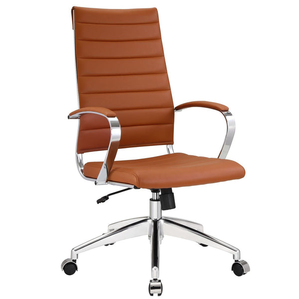 Office Chairs - Modway EEI-272-TER Jive Highback Modern Office Chair | 848387005733 | Only $222.25. Buy today at http://www.contemporaryfurniturewarehouse.com