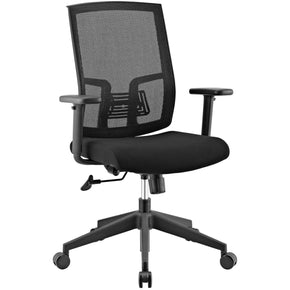 Progress Mesh Office Chair Black