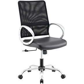 Command Mesh And Vinyl Office Chair Black