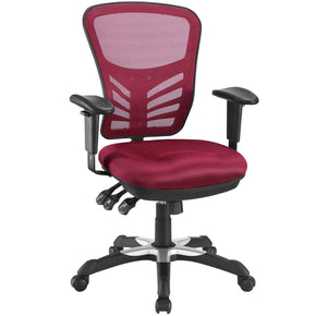 Office Chairs - Modway EEI-757-RED Articulate Mesh Office Chair | 848387056834 | Only $160.25. Buy today at http://www.contemporaryfurniturewarehouse.com