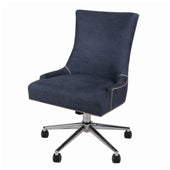 Charlotte Office Chair Denim Slate Blue