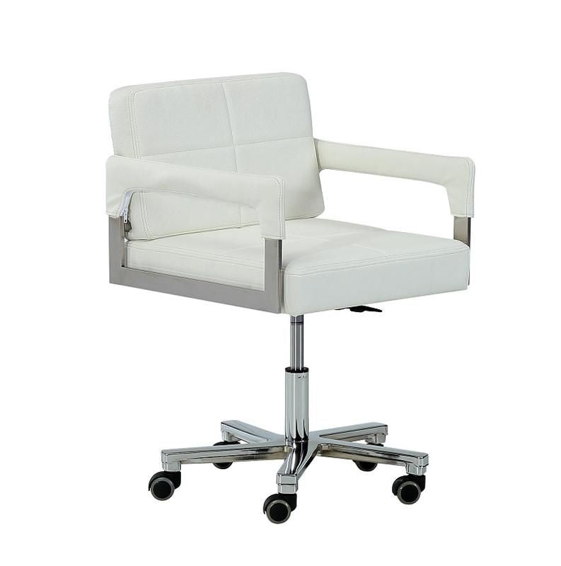 Vig Furniture VGVCA508-WHT Modrest Craig Modern White Bonded Leather Office  Chair sale at Contemporary Furniture Warehouse. Today only.