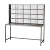 Gunther Industrial Chic Tall Desk Graphite