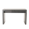 Donald Desk in Gray with Two Drawers