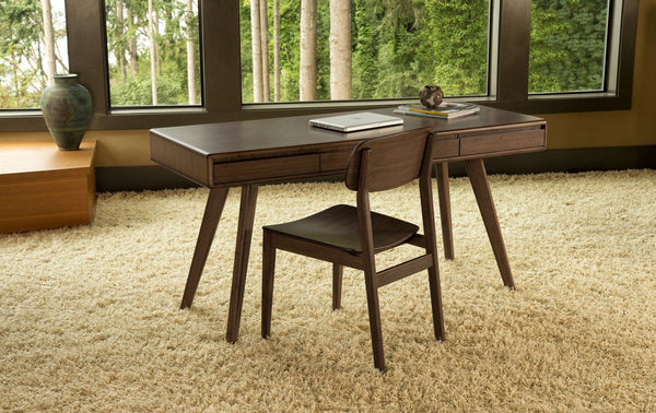 Currant Writing Desk Black Walnut Office