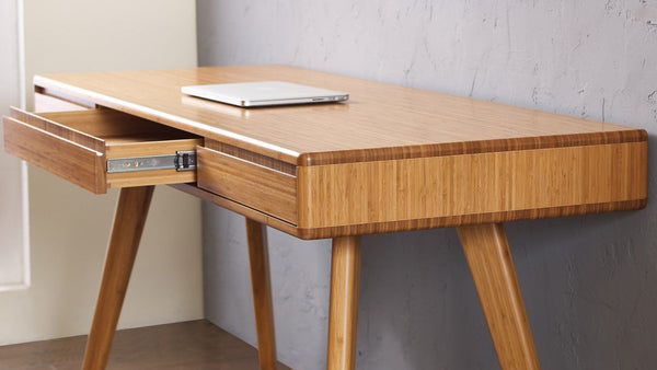 Currant Writing Desk Carmalized Office