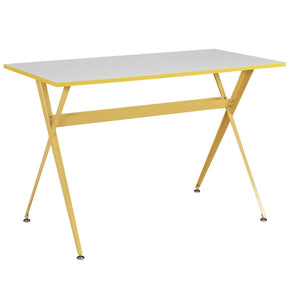 Office Desks - Modway EEI-1325-YLW Expound Office Desk | 848387027384 | Only $98.75. Buy today at http://www.contemporaryfurniturewarehouse.com