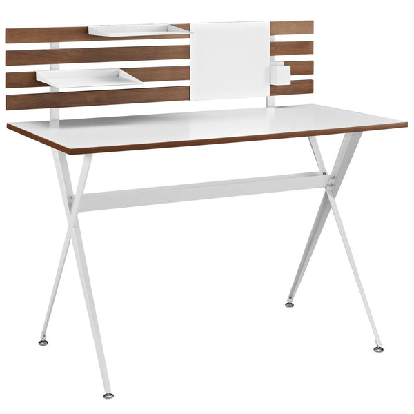 Knack Wood Office Desk Cherry