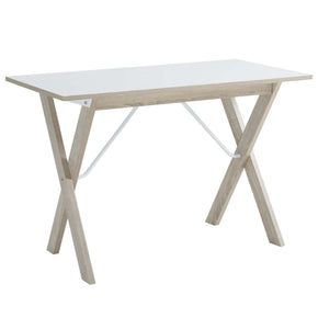 Expanse Writing Desk Natural White Office